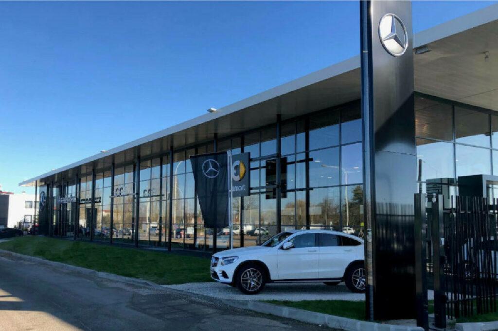 Avec le rachat de GGE, le groupe RCM va dépasser les 10 000 Mercedes-Benz vendues par an en France.