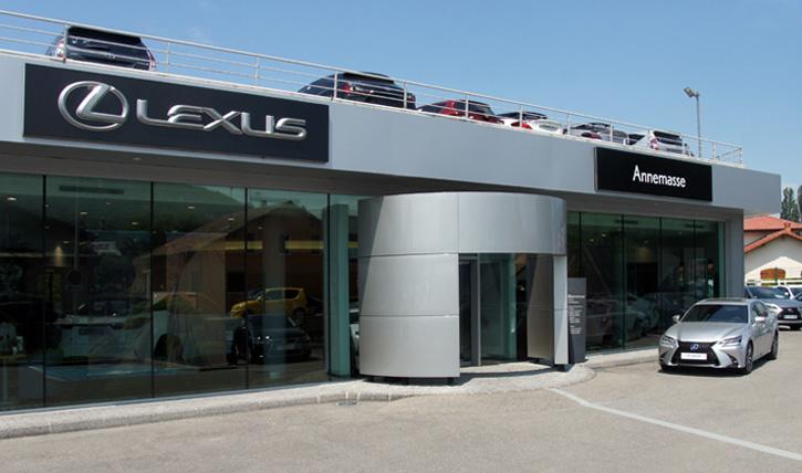 Les dix premiers distributeurs Lexus ont écoulé 69 % des modèles de la marque premium de Toyota.