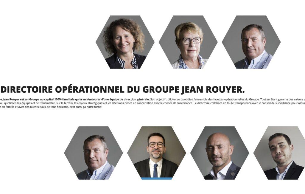 Le groupe Jean Rouyer a remanié son comité de direction suite à la nomination de Bénédicte Rouyer à la fonction de présidente du conseil de surveillance.