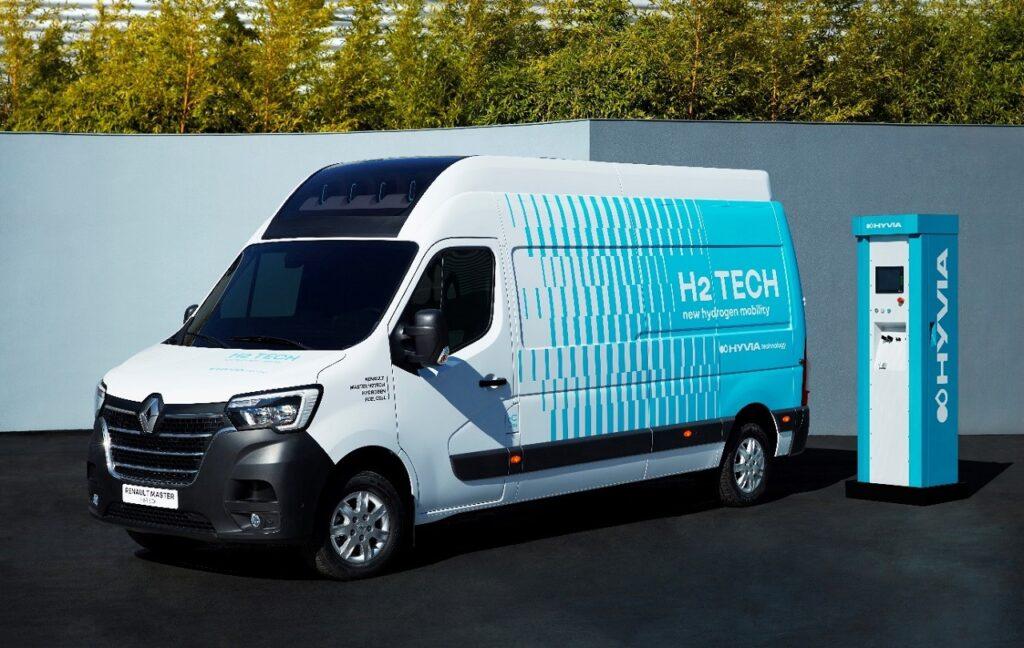 Hyvia débutera la commercialisation du Master Van H2-Tech en 2022.