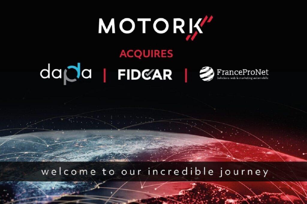 Outre Fidcar et FranceProNet, MotorK reprend Dapda en Espagne.