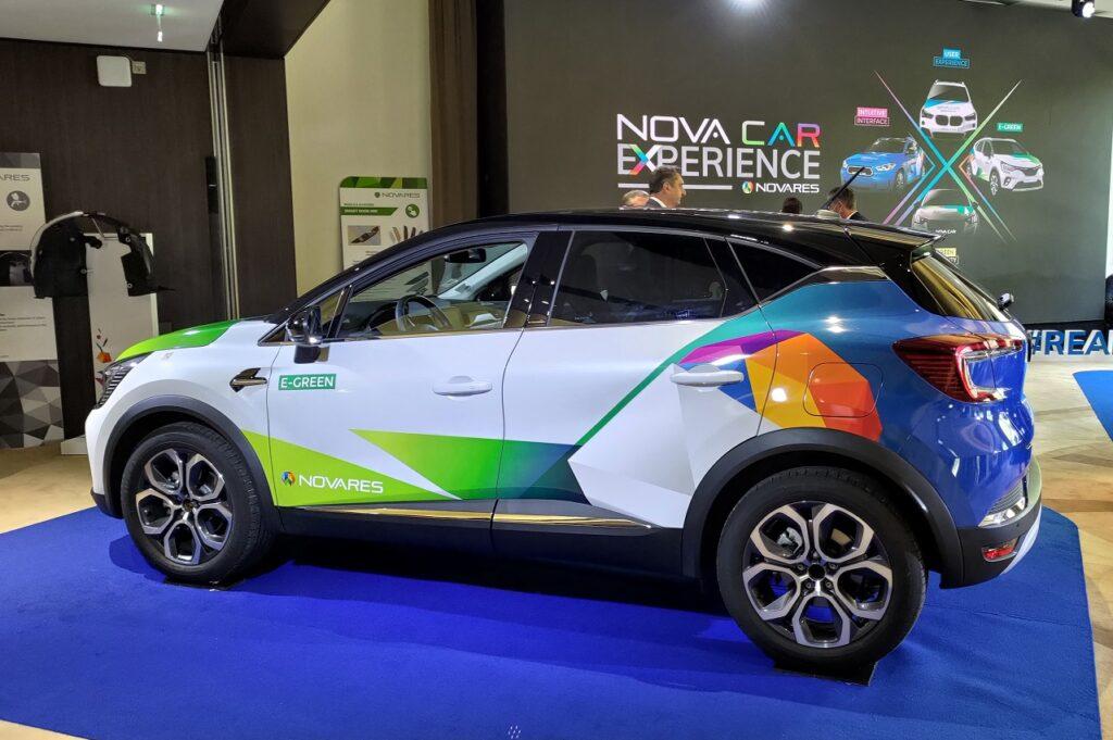 Novares a présenté ses dernières innovations le 29 septembre 2021 à Paris.