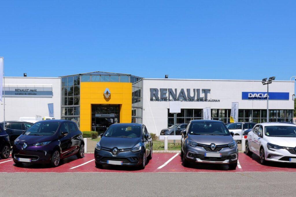 A Toulouse, Renault Retail Group écoulait 10 000 VN et 5 000 VO par an environ. (Crédit : RRG)