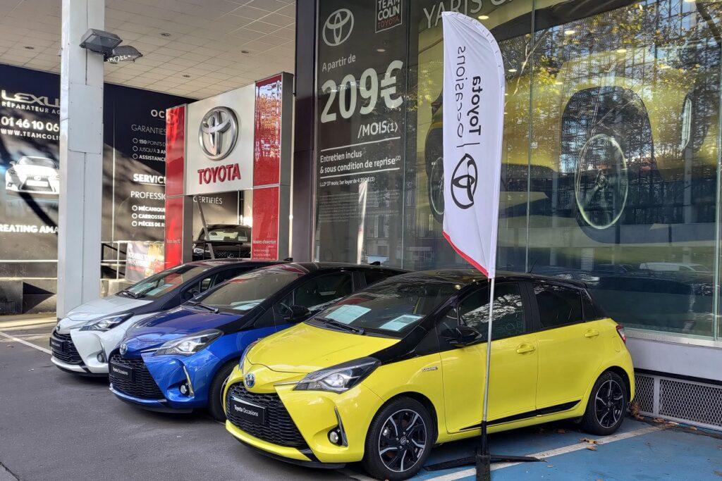 La gamme Toyota domine les ventes sur le segment des hybrides.