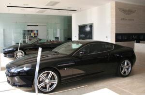 Aston Martin va ouvrir 4 showrooms en Italie