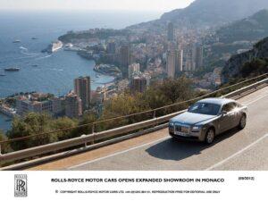 Nouveau showroom Rolls-Royce à Monaco