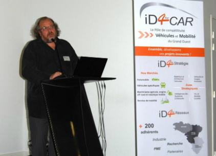 iD4CAR avait invité Elmar Mock, inventeur de la Swatch, à donner sa vision de l'innovation.
