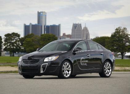 GM et Opel dévoilent une Insignia autonome