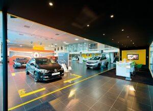 Renault déploie ses Store au Royaume-Uni
