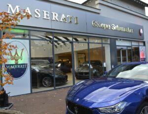 Maserati inaugurée au Vésinet