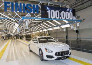 Maserati franchit le cap des 100000 !