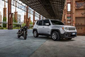 Harley-Davidson et Jeep ensemble