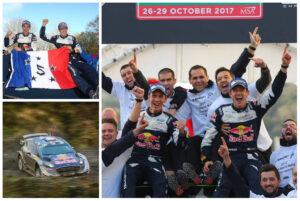 WRC : Ogier et Ingrassia décrochent un 5e titre !