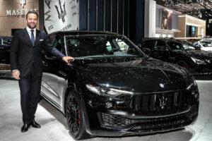 Umberto Cini nouveau DG de Maserati Europe