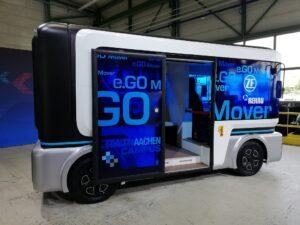 ZF se lance dans la production de la navette autonome e.Go Mover