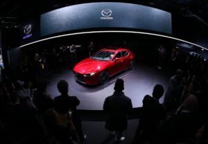 Premiers pas de la Mazda3 à Los Angeles