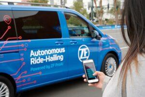 [CES 2019] ZF débarque avec un concept de robot-taxi