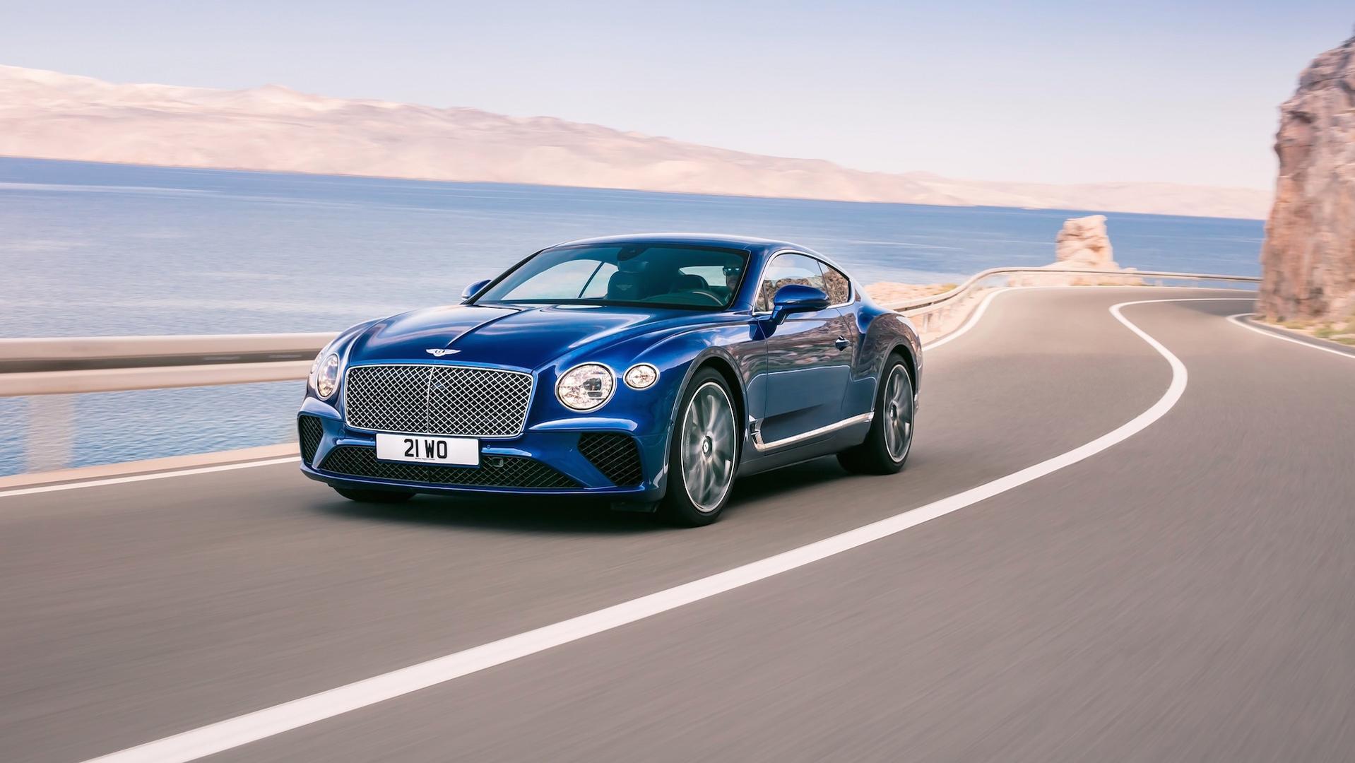 Bentley chute en 2018