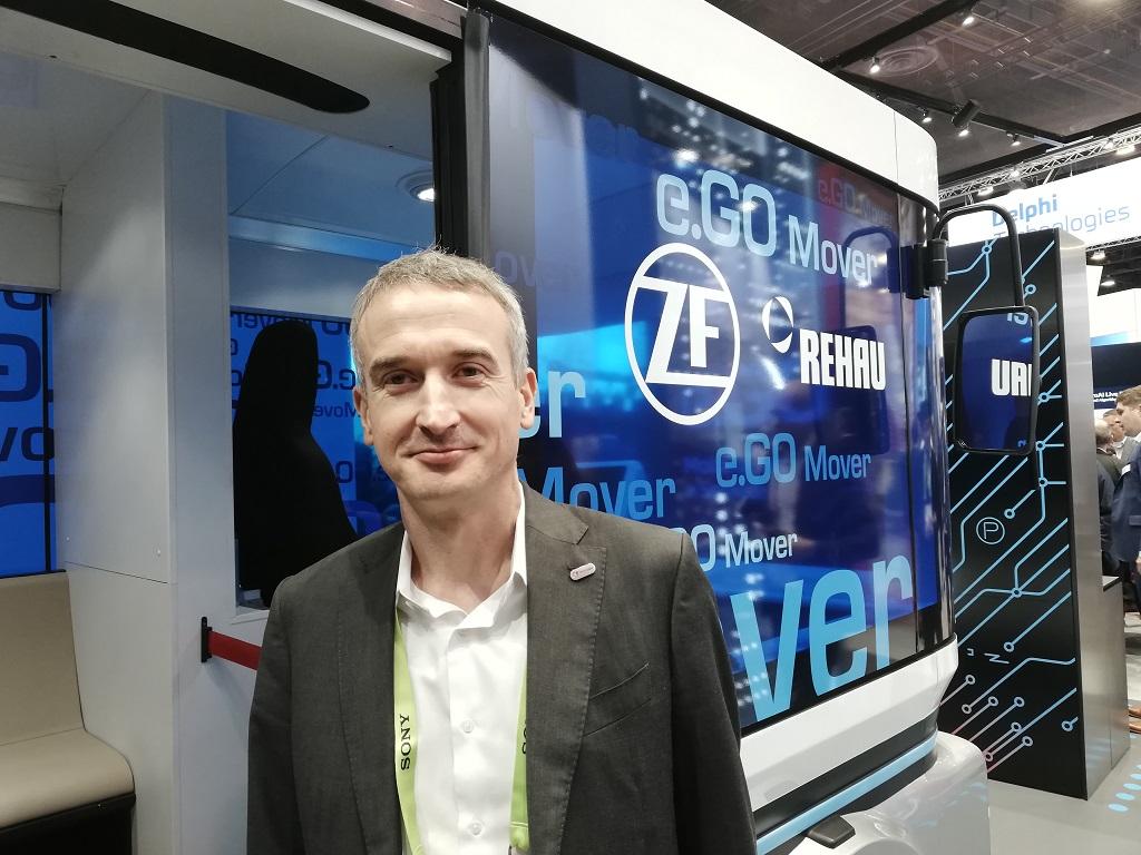 Yann Leriche, P-DG de Transdev North America et directeur des systèmes de transport autonomes B2C