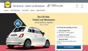 Lidl se met à la distribution automobile avec Fiat