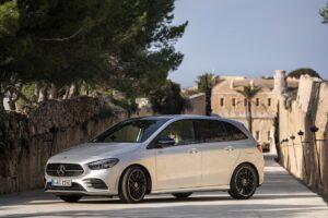La Mercedes Classe B fait de la résistance