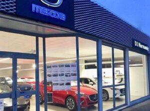 Mazda inaugure à Rouen