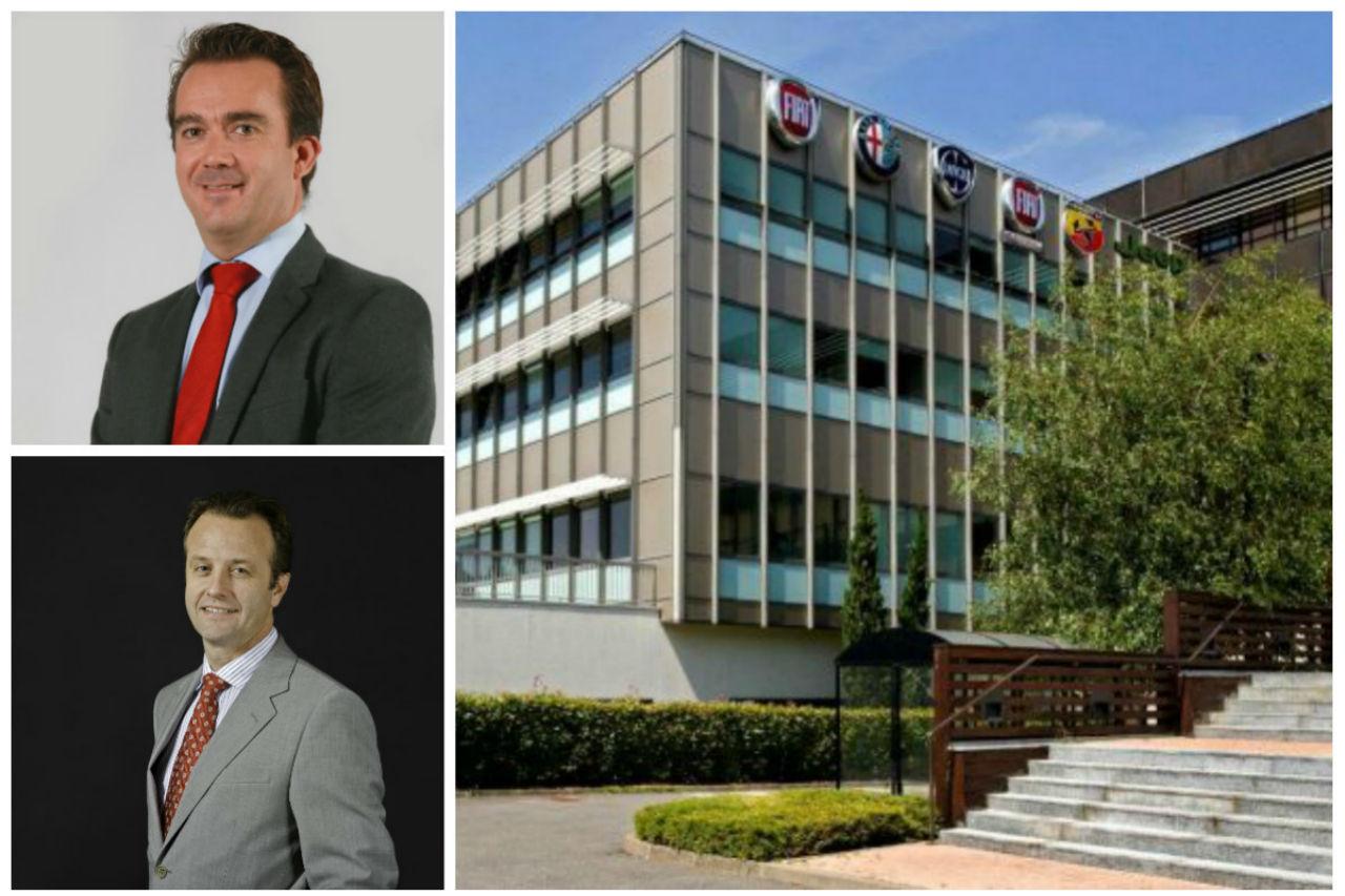 Philippe Vautier, directeur de Fiat et Abarth et Stéphane Labous à la tête d