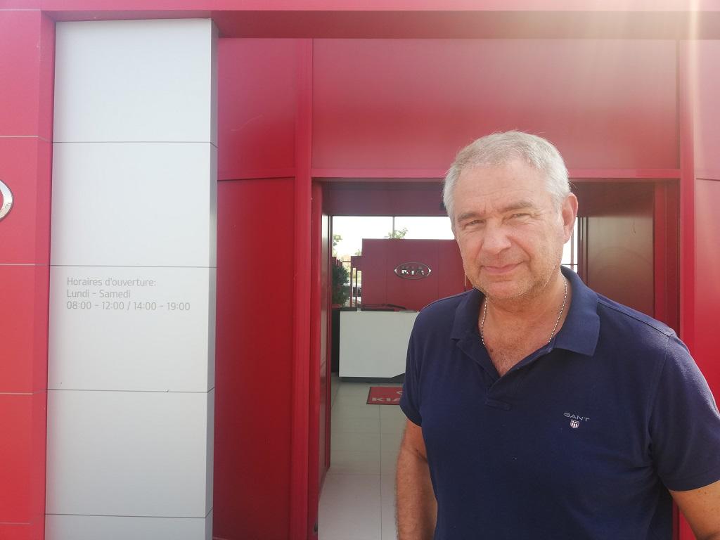 Antoine Contardo, le président de Vista Group et fondateur de Yes My Car.