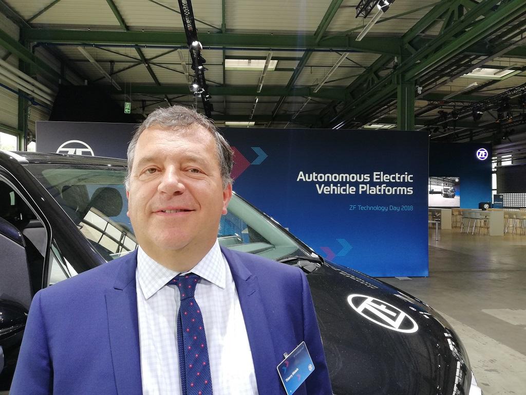 Thierry Métais a pris la direction des Nouvelles mobilités pour le groupe ZF, le 1er juillet 2019.