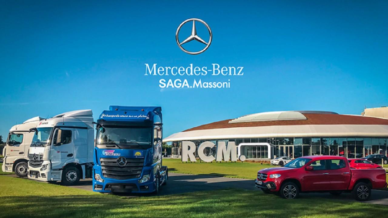 Le groupe RCM acquiert 4 nouvelles concessions Mercedes-Benz Trucks