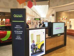Qarson étoffe son réseau de corners en France