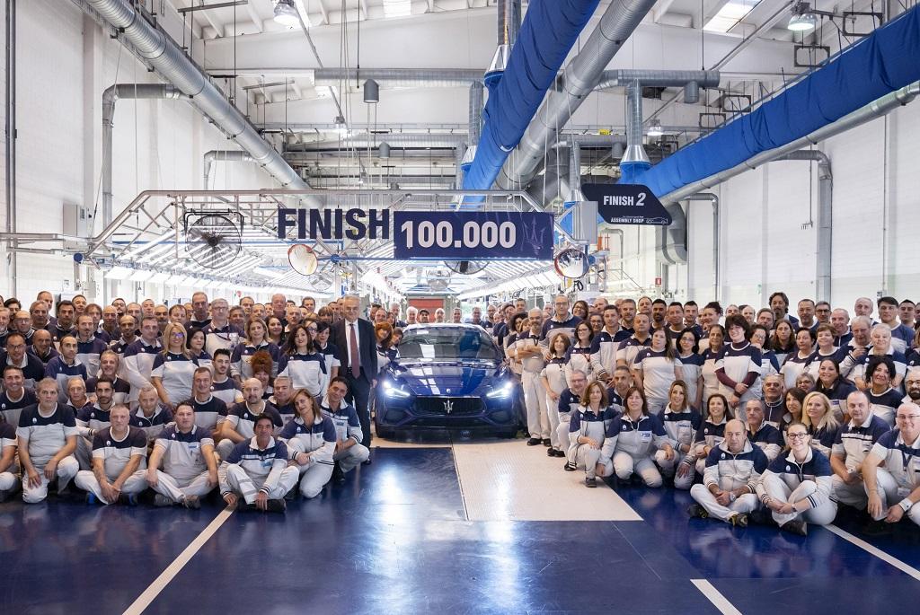 La feuille de route de Maserati