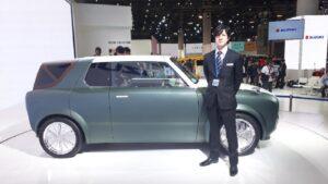 Concept-car : Suzuki présente son véhicule 2-en-1