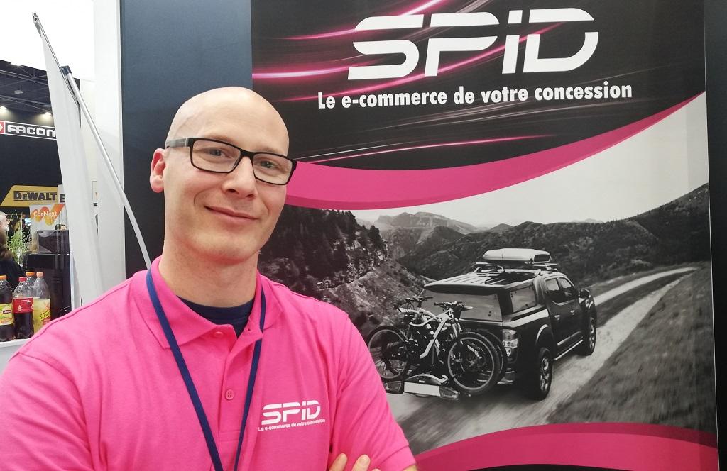Fabien d'Aumale, fondateur de Spid Tech