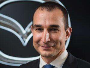Thomas Léonard promu directeur commercial et marketing de Mazda France