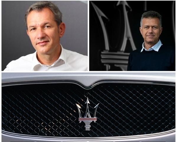 Bernard Loire devient directeur commercial de Maserati