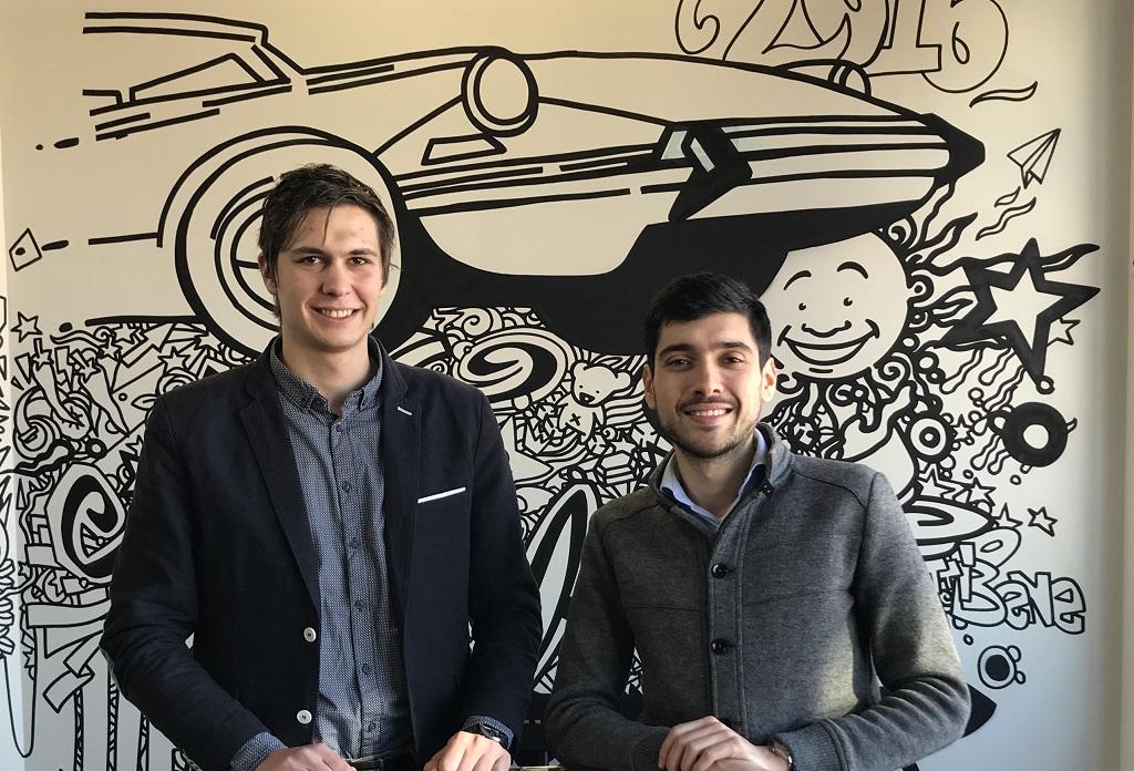 Yohan Payre et Yassine Tazi, les cofondateurs de Finnocar.