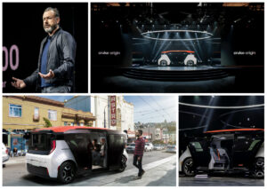 GM dévoile sa navette autonome