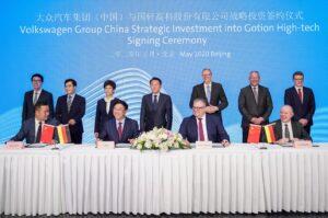 VW prend la main sur sa production électrique en Chine