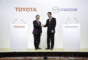 Toyota met fin à une coentreprise avec Mazda et Denso