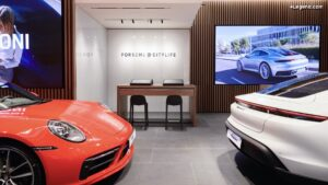 Porsche ouvre un nouveau concept store à Milan