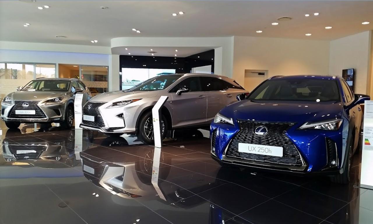 Lexus récompense ses concessionnaires européens