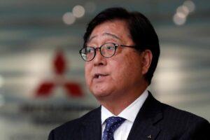 Le président de Mitsubishi a quitté son poste