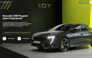 Peugeot veut booster le commerce en ligne avec son salon virtuel