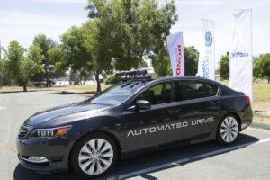 Honda vendra une Legend autonome en 2021