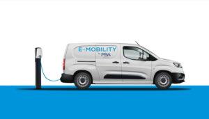 PSA ouvre le chapitre des fourgonnettes électriques