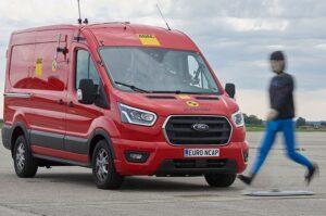 EuroNCAP met à l'épreuve les utilitaires légers