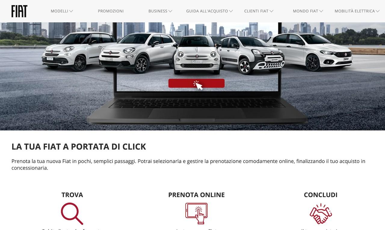 FCA lance ses sites e-commerce, relais des concessions