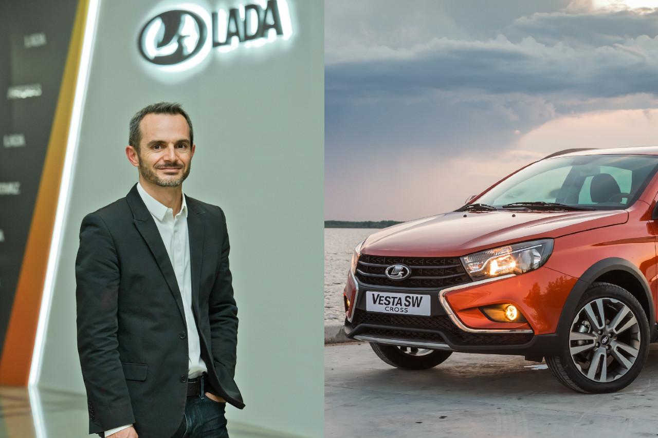 Jean-Philippe Salar à la tête du design Lada