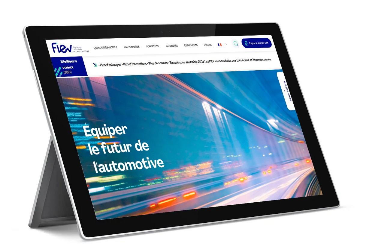 La Fiev démarre 2021 avec un nouveau site web